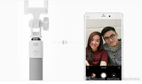 Wholesale Cheapest Xiaomi - Cheapest! 100% Original Xiaomi selfie shutter Monopod Stick Holder Extendable Handheld Bluetooth Shutter for IOS Android Mobile Phone by DHL