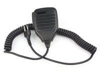 Wholesale Microphone Icom - Handheld Shoulder Speaker MIC Microphone for ICOM IC-F3  IC-F3S  IC-F4 Radios 2 Pin Jack