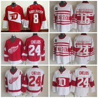 ... Detroit Red Wings 8 Justin Abdelkader Jersey 37406462d