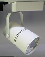 siyah ledli raylar toptan satış-Yüksek Kaliteli 30 W LED Parça Işık Bridgelux COB LED Spot Işık 30 W Sürücü AC85-265V Siyah Veya Beyaz Kabuk Opsiyonel Ücretsiz Kargo