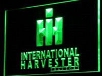 Wholesale International Light Bulbs - d133 International Harvester Tractor LED Neon Sign with On Off Switch 7 Colors to choose Cheap sign light bulb