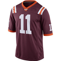 Wholesale Factory Colleges - Factory Outlet- #11 Kendall Fuller,Customized Custom Virginia Tech Hokies NCAA College Football Jerseys,2015 New Personalized Stitched Jerse