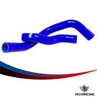 Wholesale Nissan Hose - PQY-Silicone Radiator Coolant Hose,Silicone hose kit W logo For NISSAN SILVIA   200SX RPS13 S14 S15 Earlier Ver.(SR20DET)LX1602