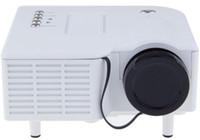 videospiele einstellung tv großhandel-Einzelhandel Hohe qualität UC28 + LED Mini Tragbare Licht Heimkino Video Projektor LCD Verbinden Set Top Box / USB / TV Spielkonsole / DVD-Player