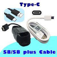 Wholesale Cm C - Top quailty OEM 120 cm 4ft usb type C data cable fast charging work for s8 s8 plus