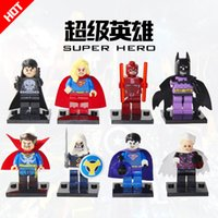 Wholesale 2017 Super Heroes blocks Bizarro Daredevil The Collector Marvel Avengers Building Blocks Model Set Toys as Gift for Kids