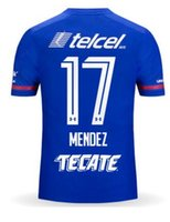 Wholesale Create Shirt - customized 17-18 Name and Number 17 Mendez thailand quality soccer jersey,Create MENS 7 CAUTE 16 Aldrete 19 COTA soccer jerseys Shirts tops