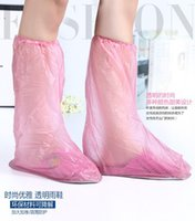 Wholesale Waterproof Poncho For Boots Elastic Shoes Resists Water Dirt and Mud Dirt and Mud Carpet PVC High Quality Fast shipping