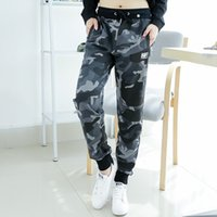 Wholesale Men Cotton Lounge Pants - Couples camouflage pants Lounge Long Pant Drawstring Camo Sweat Pants for men and women free shipping