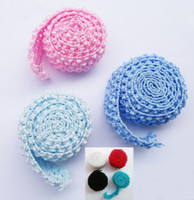 Wholesale 1 quot Crochet Elastic Tutu Waistband Headbands Band Rolls by Meters For Tutu Dress