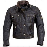 Wholesale Waxed Shorts - free ship MOJAVE BROOKLANDS steve mcqueen jacket motorcycle jacket men waxed jacket waterproof