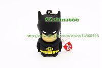 Wholesale Batman Usb Flash - Black Batman USB Flash Drive Bat Man Pen Drive Special Gift Fashion Hot Sale Cartoon Pendrive 8GB 4GB 1GB 2GB 16GB