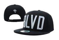 Wholesale Snap Back Blvd - High Quality BLVD Supply Block Snapback Caps & Hats Street Snapbacks Snap Back Hat Men Women Baseball Cap Cheap Sale