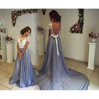Wholesale Sheer New Years Dresses - New Years Evening Dresses For Women 2017 Generous Sheer Backless Formal Dress For Women Long Chiffon Prom Gowns