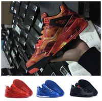 Wholesale Silver Glitter Band - Newest color Air retro 4 MEN Basketball Shoes men retro 4s Pure Money Royalty White Cement Premium Black Bred Fire Red Sports Sneakers