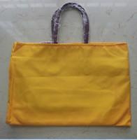 large size shopping bags großhandel-Arbeiten Sie Frauen PU-Lederhandtasche große Einkaufstasche französische Einkaufstasche GM Millimeter-Größen-gy Beutel um