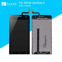 оригинал asus zenfone lcd экран оптовых-Wholesale-Original LCD For Asus Zenfone 5 Display with Touch Screen A500KL A500CG A501CG 5 inch with 10 in 1 Opening Repair Tools