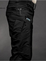 Wholesale Tactical Bdu - Wholesale-Urban IX7 BDU Tactical Cargo Pants Men Casual SWAT Force Training Multi-pockets Trousers Overalls Cotton Sports Military Pant