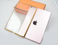 Wholesale Crystal Clear Ipad Air Case - For iPad Mini 4 2 3 ipad pro 9.7 ipad air Luxury Ultra Thin Clear Crystal Rubber Plating Electroplating TPU