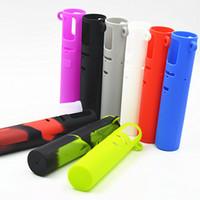 ich starter großhandel-Ijust s Silikon-Kasten bunte Gummi-Hülsen-schützende Abdeckungs-Haut für iSmoka Eleaf ich gerade s 3000mah Batterie-Starter