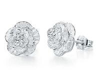 Wholesale Cheap Sterling Silver Fashion Rings - 100pcs Free Shipping cheap stud earrings women earring fashion jewelry 925 sterling silver Female romantic and elegant ear rings luxury