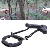 Outdoor Camping Survival Chain Saw Hand ChainSaw Schnelle Schneiden EDC Camping Tool Pocket Gear