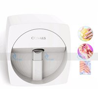 Wholesale Mobile Beauty Tools - Automatic Nail Printer Mobile Nail Stamping Machine 3D DIY O2NAILS Multifunctional Pattern Fast Speed Fashion Beauty Tool Wireless Painting