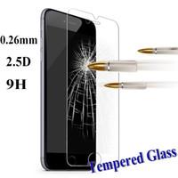 temperli cam ekran koruyucu fiyatları toptan satış-Fabrika fiyatı! 2.5D 0.3mm 9 H Premium Temperli Cam Ekran Koruyucu Film IPhone x 8 7 6 6 s artı 5 5 s Samsung Galaxy S8 artı