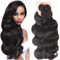 Mink Brazilian Virgin Hair Body Wave 4Pcs Remy Brazilian Hair Weave Bundles 30 Extensions de cheveux noirs de 32 pouces et de cheveux blancs Brizilian Body Wave