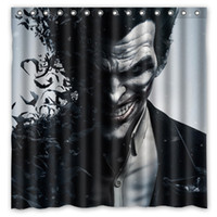 Europe origins showers - Batman Arkham Origins Joker Design Shower Curtain Size x cm Custom Waterproof Polyester Fabric Bath Shower Curtains