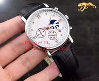 Wholesale Advance Quartz Watch - Mens Watch Professional Planet Ocean Co-Axial Di 6 needle Quartz watch Butterfly luminous watch Advanced coating blue glass watches 41mm 9mm