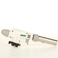 pistola de gas quemador de llama al por mayor-2015 encendedores de gas calientes Encendedor de antorcha Encendedor de pistola de llama Soldadura de soldadura Quemador de chorro de aire Encendedor de hierro ardiente Encendido automático Calefacción BB Encendedores