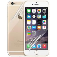 iphone 4.7 5.5 ekran koruyucusu toptan satış-IPone S6 için 2.5D yumuşak Ekran filmi Koruyucu 0.26mm Tedavi iphone 4 5 6 4.7 artı 5.5 iPhone6 Iphone S4 S5 S6 Not 3 4