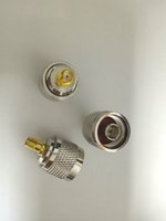 Wholesale sma male to n female for sale - Group buy 20PCS COPPER N male plug To RP SMA Female RF ADAPTER