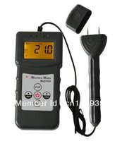 Großhandels-LCD-Digital-Holzfeuchte-Messgerät Detecotr Tester 2-Pin Freeshipping Dropshipping, 150 Arten Holz Wahl, 0-84%