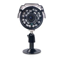 Wholesale Security Camera S - 700TVL Home Security Camera 24IR LEDs Color CMOS Video Surveillance Camera Day Night IP66 Waterproof Outdoor Indoor Bullet Camera for CCTV S