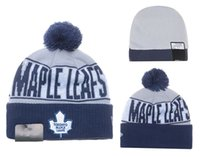 Barato Barato Esportes Chapéus Atacado-NEW HOT Sport KNIT DORONTO MAPLE LEAFS Baseball Club Beanies Team Hat Winter Caps Popular Beanie Wholesale Fix Cheap Gift VENDA