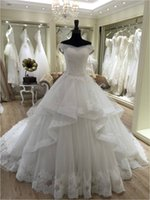 Wholesale Custom Dress Making China - Buy Direct From China Off Shoulder Ball Gown Gelinlik Long Custom Made Formal Bridal Gowns Designs NW044 Wedding Dresses 2016