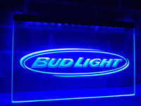 LA001b- Bud Light Cerveza Pub Pub Club NR LED Neon Light Sign