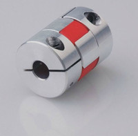 Wholesale gear for couples resale online - New High Precision big torque Aluminum plum type coupling for servo and stepper motor couplings D L D1 and D2 are to
