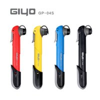 Wholesale Tire Inflator Hand Pump - Giyo GP 04s 80g Portable Mini MTB Mountain Bike Bicycle Pump 120 psi High Pressure Cycling hand Air pump ball Tire Inflator