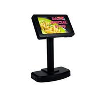 zoll tft display großhandel-PD7000 7 Zoll TFT-Kundenanzeige-Anzeige USB / seriell optional für Restaurant