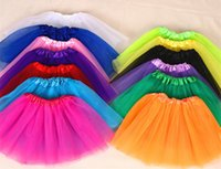 Wholesale Corduroy Girls Christmas Dresses - Best Match Baby Girls Childrens Kids Dancing Tulle Tutu Skirts Pettiskirt Dancewear Ballet Dress Fancy Skirts Costume