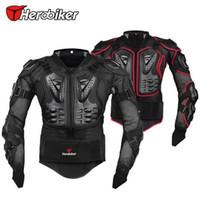 motorrad-rüstungsschutzjacke großhandel-2016 neue Marke Motorrad Racing Rüstung Schutz Motocross Offroad Körperschutz Jacke Kleidung Schutzausrüstung CP214