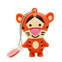 Realidade Capazzinho Mini Mini USB 2.0 Flash Drive Pen Drive Memory Stick Animal Cartoon 4GB 8GB 16GB 2GB 1GB U Disk
