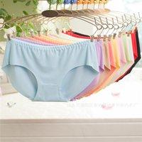 Wholesale Sexy Purple Undies - New Quality Briefs Top DuPont Seamless Girls undies Sexy Panties Women Underwear Lingerie knickers