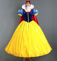 Cheap TV & Movie Costumes Snow White Fairy dress Best Women Princess bag luxury clothing gloves