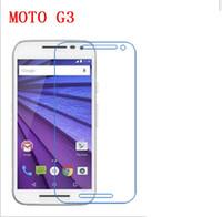 moto g pantalla templado al por mayor-PARA MOTOROLA MOTO G G2 G3 G4 G4 PLUS G5 G5 PLUS MOTO E E2 E3 E4 E4 PLUS X PORCE 9H Premium 2.5D Protector de pantalla de cristal templado 200pcs