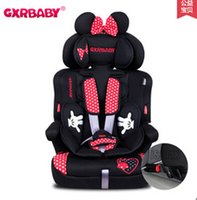 Wholesale Used Car Seat Safety - Cute Cartoon Baby Car Seats with Five Points Harness, High Quality Child Safety Chair used in the Car Kid Seat with ISOFIX
