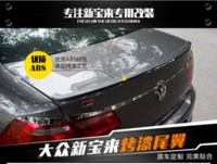 Wholesale fit for Volkswagen new bora baking varnish stove varnish high quality Spoiler spoiler Wing rear wing different colors